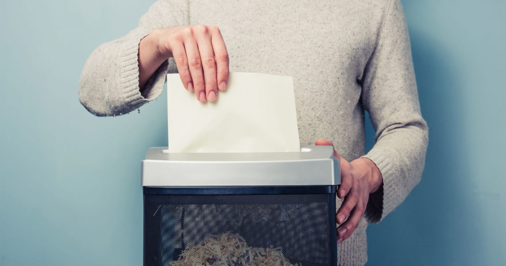 Disposing of Important Documents Before a Move