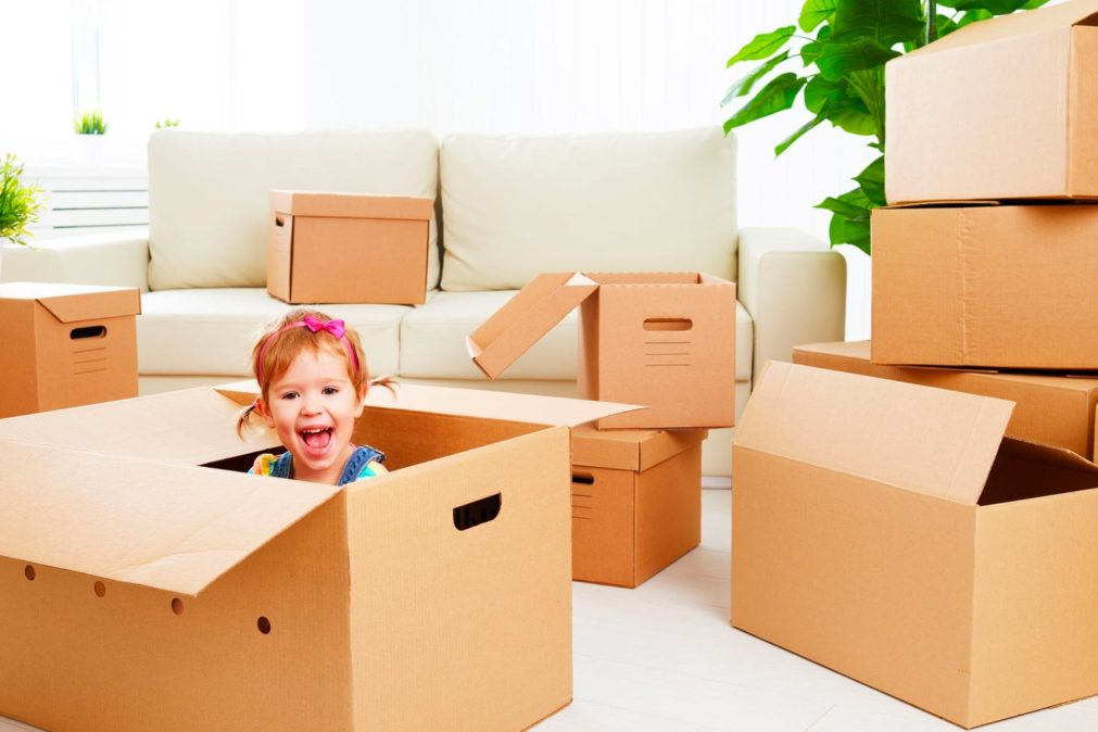 Keeping Children Happy During A Move